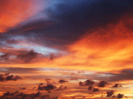 flame in the sky by sooshihana