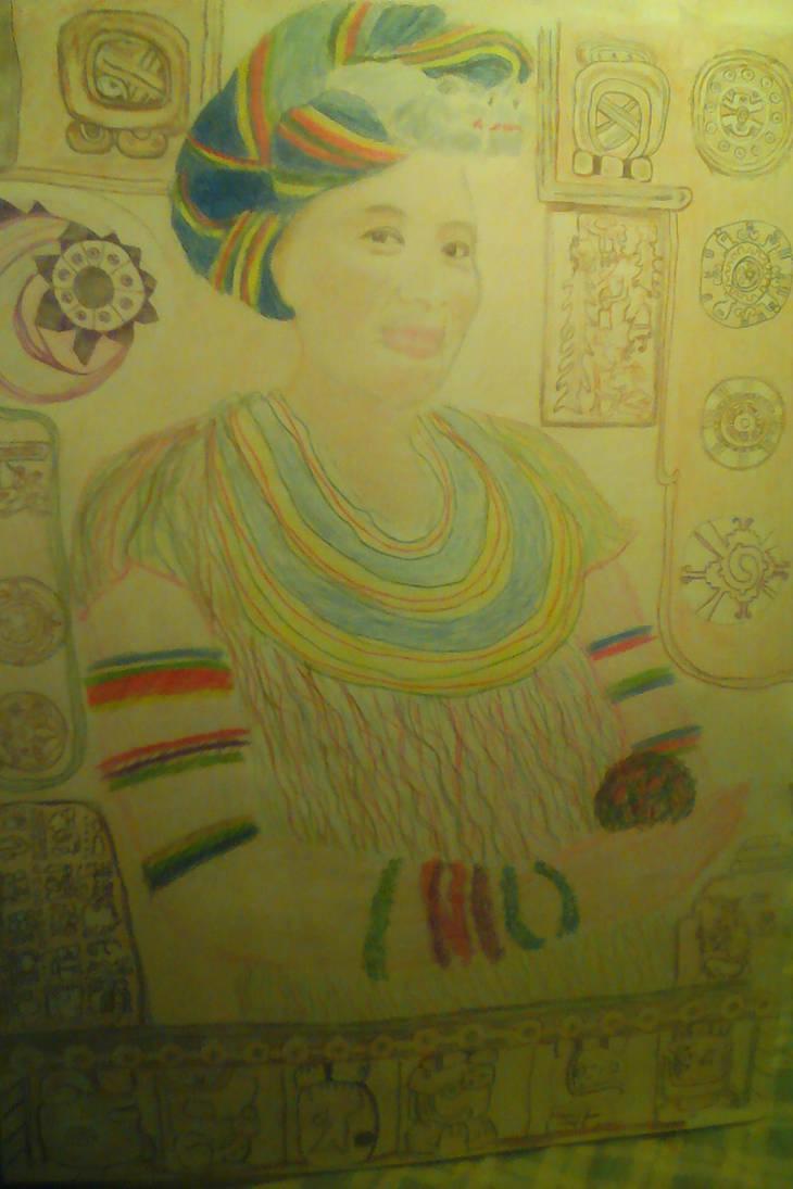 Portrait of Lourdes by lothairebeaumont