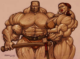 Barbarians by zebodoy