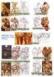 Zebodoy commissions (4/4) A4 samples by zebodoy