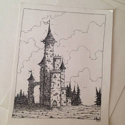 Castle by Thor-Aksel
