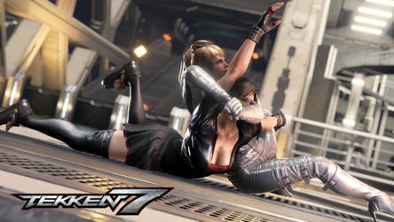 'Give up yet?' Asuka vs Nina Online Match by Tekken7Wallpapers