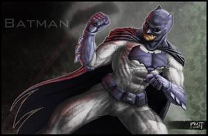 Batman by PRATT-FACE