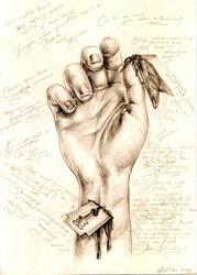 Hand by ArtOfAsthar