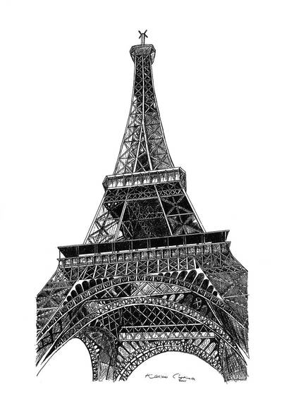 Eiffel Tower by made-in-utopia