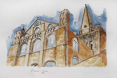 Norwich cathedral by made-in-utopia