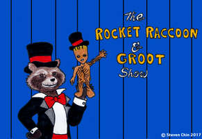 The Rocket Raccoon and Groot Show by Rocket-Stevo