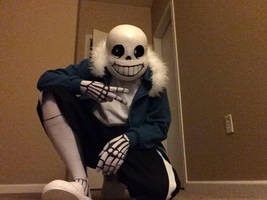Sans Cosplay (WIP) by AttackGoose
