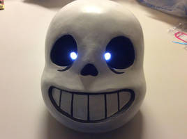 Finished Sans Head (Regular Pupils) by AttackGoose