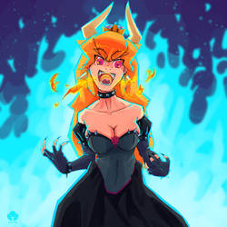 Long live to the queen Bowsette by Halem1991