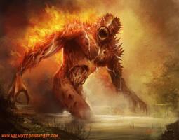 Fire Gore by HELMUTTT