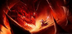 OH BLEEP A RED DRAGON by HELMUTTT