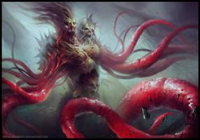 Vein Monster by HELMUTTT