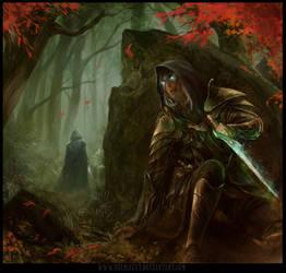 The Godling Chronicles book 1 cover art by HELMUTTT
