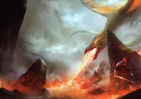 DragonLands Desolation by HELMUTTT