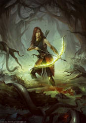 Turik and the Elven Queen by HELMUTTT