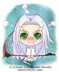 Dark Souls - Chibi Priscilla by iforher