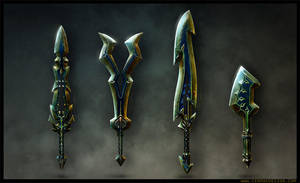 Swords Mobile Games by A-Cermak