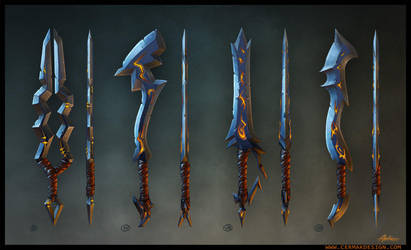 Swords weapons Mobile Games by A-Cermak