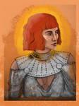 Zendaya - Jeanne d'Arc by bIackbiird