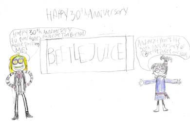 Happy 30th Anniversary, BeetleJuice! by Prentis-65