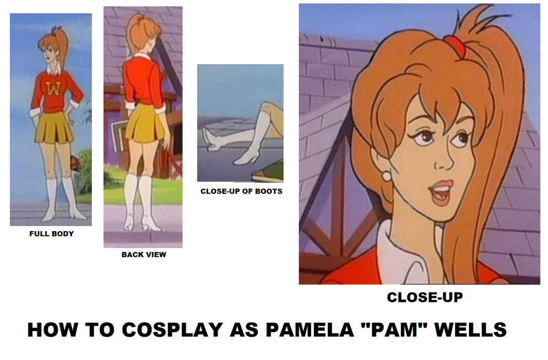 How to Cosplay as Pamela Wells by Prentis-65