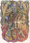 Perun and Yarovit by Righon