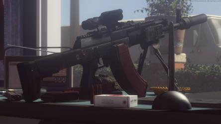 AK-12 M43 by Kaymanovite