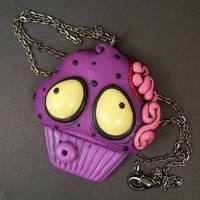 Zombie Cupcake custom by True-Crimeberry