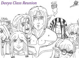 Davya Class Reunion by Pitdragon
