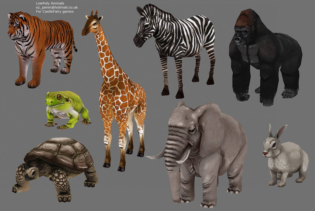 Image of: Pig Low Poly Animals By Ezjamin Deviantart Low Poly Animals By Ezjamin On Deviantart