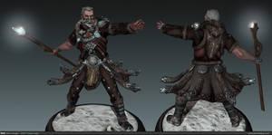 Guild Wars 2 Norn - Lowpoly by ezjamin