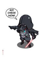 Chibi Vader by satanasov