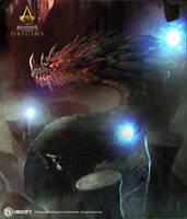 AC Origins GIANT SNAKE mood image by satanasov