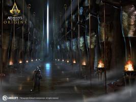 AC Origins Duat corridor by satanasov