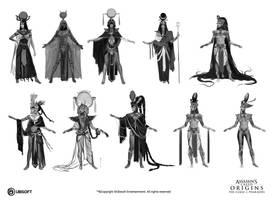 Assassin's Creed Origins: Curse of the Pharaoh 15 by satanasov