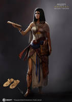 Assassin's Creed Origins: Curse of the Pharaoh 17 by satanasov