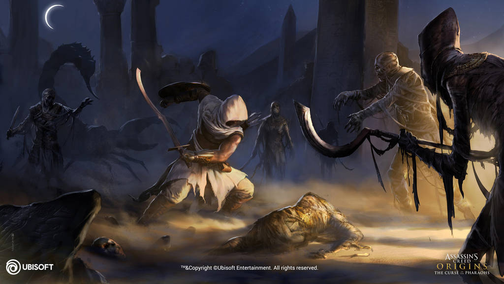 Assassin's Creed Origins: Curse of the Pharaoh 31 by satanasov