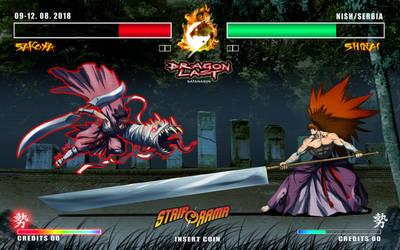 DRAGONLAST videogame by satanasov