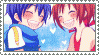 Stamp - Vocaloid: Kaito+Meiko by Emiliers