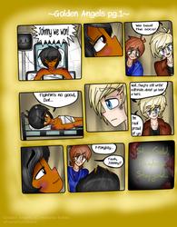 Golden Angels pg 1 by xPastaSketcherx