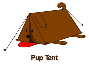 Pup Tent by goldleader23