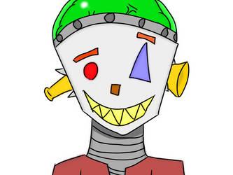 Metal Robot... Guy by GazSkeleton