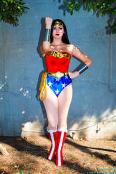 Classic Wonder Woman (Laura Norkin) by chaosnorder