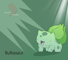 Bulbasaur:cute bulb by berzerk-Blaziken