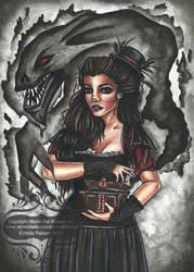 Ancient Shadow by MysticFaeFantasyArt