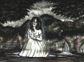 La Llorona by MysticFaeFantasyArt