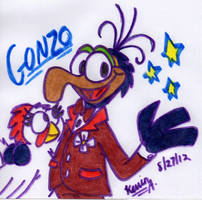 Gonzo and Camilla by EeyorbStudios