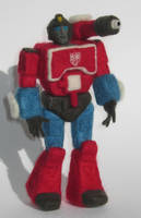 Needle-Felted Perceptor by GlassCamel