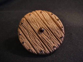 MOTUC custom Wooden Shield by masterenglish